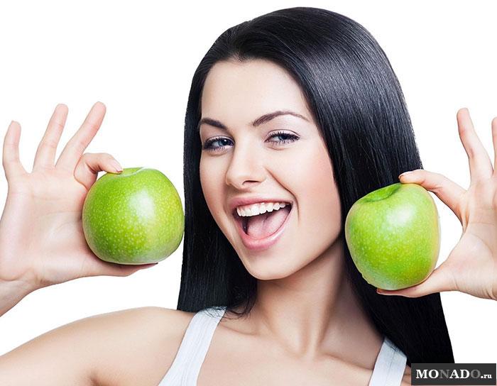 Польза яблок для женского здоровья