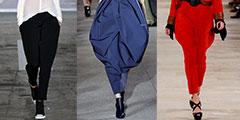 Модные брюки сезона весна-лето 2013